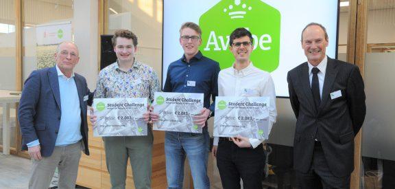 Winners Avebe Student Challenge